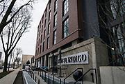 Hotel Indigo along East Washington Avenue in Madison, WI on Wednesday, April 17, 2019.