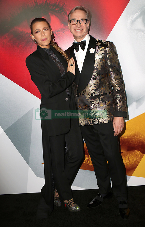 September 11, 2018 - New York City, New York, USA - 9/10/18.Blake Lively and Paul Feig at the world premiere of ''A Simple Favor'' held at The Museum of Modern Art in New York City..(NYC) (Credit Image: © Starmax/Newscom via ZUMA Press)