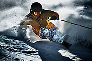 A collection of winter sports action pictures shot on location in Canada, Italy and France.