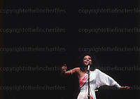 American singer Diana Ross seen in concert in London, UK in September 1973.Photograph by Terry Fincher