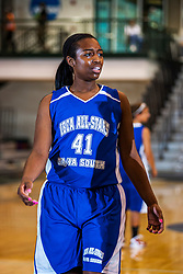 18 June 2011: Simone Law at the 2011 IBCA (Illinois Basketball Coaches Association) girls all star games.