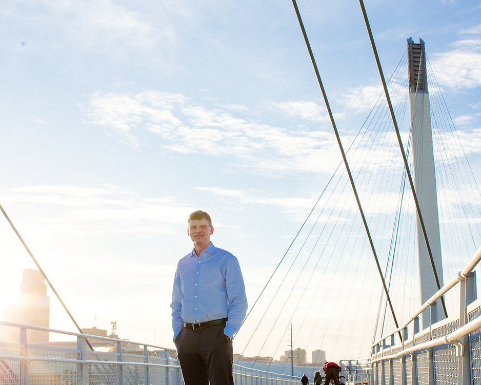 27 November 2018– Dr. Lance Kuglar is photographed at the pedestrian bridge as the face of vision correction for Kuglar Vision for FACES 2019.