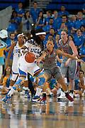 Womans Basketball, UCLA vs Washington State at UCLA, 2013...Photo by Nathan Sweet..