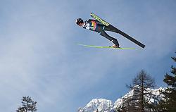 23.03.2013, Planica, Kranjska Gora, SLO, FIS Ski Sprung Weltcup, Skifliegen, Team, Probedurchgang, im Bild Anders Bardal (NOR) // Anders Bardal of Norway during his trial jump of the FIS Skijumping Worldcup Team Flying Hill, Planica, Kranjska Gora, Slovenia on 2013/03/23. EXPA Pictures © 2012, PhotoCredit: EXPA/ Juergen Feichter
