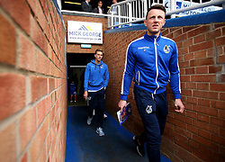 Ollie Clarke and Joe Partington of Bristol Rovers arrive at The ABAX Stadium, for the Sky Bet League One fixture against Peterborough United - Mandatory by-line: Robbie Stephenson/JMP - 24/03/2018 - FOOTBALL - ABAX Stadium - Peterborough, England - Peterborough United v Bristol Rovers - Sky Bet League One