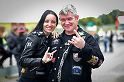 NO FEE PICTURES                                                                                                                                                8/6/19 Simona and Paul Ivers, Arklow pictured at Metallica's sold out concert, with 75,000 fans at Slane Castle in Co Meath. Picture: Arthur Carron