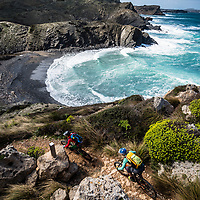 Julia Hofmann and Karen Eller, shot during a 4-day circumnavigation of the island of Menorca.