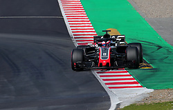 March 9, 2018 - Barcelona, Catalonia, Spain - the Haas of Romain Grosjean during the Formula 1 tests at the Barcelona-Catalunya Circuit, on 09th March 2018 in Barcelona, Spain. (Credit Image: © Joan Valls/NurPhoto via ZUMA Press)