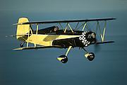 SuperBee stunt biplane