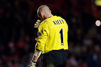 Photo: Daniel Hambury.<br />Charlton Athletic v Manchester City. Barclays Premiership.<br />04/12/2005.<br />Charlton's Dean Kiely has a bad day as he concedes five goals