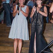NLD/Amsterdam/20130826 - Nederlandse premiere film Borgman, Annet Malherbe en Eva van de Wijdeven