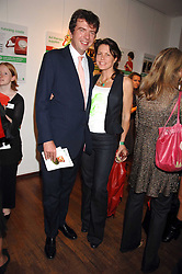 MR & MRS DAVID KESWICK she is fashion designer Samantha Shaw, at 'Party in the Grove' held at Themes and Variations, 231 Westbourne Grove, Notting Hill, London to celebrate the launch of a limited edition china mug created by Paul Smith and Wedgwood in aid of the NSPCC's Parkside Assessment service in Notting Hill.<br /><br />NON EXCLUSIVE - WORLD RIGHTS