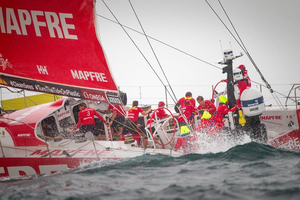 © Maria Muina I MAPFRE. Inport race in Lisbon. Regata costera en Lisboa.