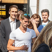 NLD/Amsterdam/20150604 - Boekpresentatie Xelly Cabau van Kasbergen, broers Xavier en ...........