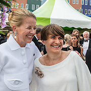 NLD/Amsterdam/20150604 - Amsterdam Diner 2016, Prinses Mabel Wisse Smit en minister Lilianne Ploumen