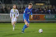 AFC Wimbledon Jack Rudoni (12) dribbling during the EFL Sky Bet League 1 match between AFC Wimbledon and Burton Albion at the Cherry Red Records Stadium, Kingston, England on 28 January 2020.