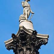 Statue of Horatio Nelson (Nelson's Column) in Trafalgar Square