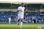 Vontae Daley-Campbell of England (12) during the UEFA European Under 17 Championship 2018 match between England and Israel at Proact Stadium, Whittington Moor, United Kingdom on 4 May 2018. Picture by Mick Haynes.
