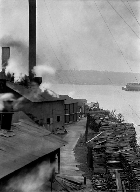 Lumber Industry on the Waterfront, Seattle, Washington, 1926