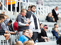 Football - 2021 / 2022 - Pre-Season Friendly - Newcastle United vs Norwich City - St James Park - Saturday 7th August 2021<br /> <br /> Newcastle fans gather before kick off<br /> <br /> Credit: COLORSPORT/Bruce White