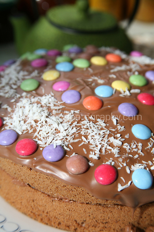 Chocolate celebration birthday cake