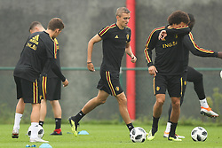 September 5, 2018 - Tubize, BELGIUM - Belgium's Timothy Castagne (C) pictured during a training session of Belgian national soccer team the Red Devils in Tubize, Wednesday 05 September 2018. The team is preparing for a friendly match against Scotland on 07 September and the UEFA Nations League match against Iceland on 11 September. BELGA PHOTO BRUNO FAHY (Credit Image: © Bruno Fahy/Belga via ZUMA Press)