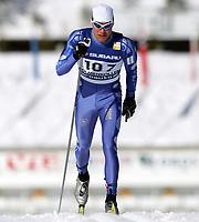 Langrenn, 13. mars 2005, Verdenscup , <br /> Cross Country skiing, Word Cup, 50 kilometres, <br /> Brynjar Skjærli, Norge