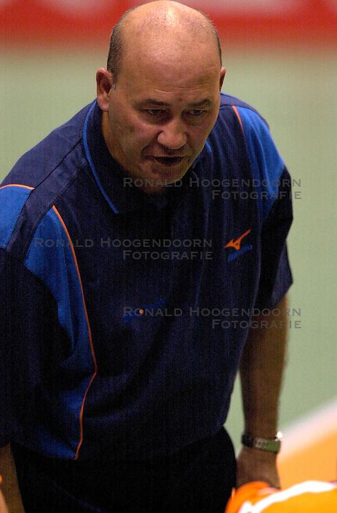 17-06-2000 JAP: OKT Volleybal 2000, Tokyo<br /> Nederland - Italie 2-3 / Pierre Mathieu