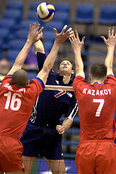 14-07-2000 VOLLEYBAL: WLV USA - RUSLAND: ROTTERDAM<br /> Rusland wint met 3-1 van USA / Kazakov, Heyden<br /> ©2000-FotoHoogendoorn.nl