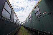 Strasshof, Austria.<br /> Triebwagentage (railcar days) at Das Heizhaus - Eisenbahnmuseum Strasshof, Lower Austria's newly designated competence center for railway museum activities.