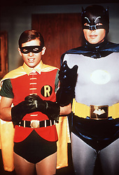 December 3, 2010 - 54381810 Date 28 12 1966  United Archives Batman holds the World in Breath 1966 Super detective Batman Adam WEST and be Assistant Robin Burt Ward fight against four after the World domination striving Gangsters the with Help from Rays People   Celebrities Entertainment  (Credit Image: © Imago via ZUMA Press)