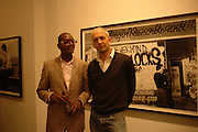 DENNIS MORRIS AND MAX WIGRAM, Hope and Glory Photographs by Dennis Morris. Max Wigram Gallery. 99 New Bond St. 13 December 2005. ONE TIME USE ONLY - DO NOT ARCHIVE  © Copyright Photograph by Dafydd Jones 66 Stockwell Park Rd. London SW9 0DA Tel 020 7733 0108 www.dafjones.com