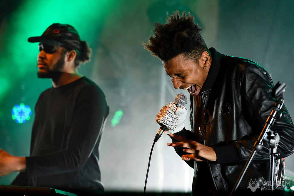 Masego performs at Red Bull Sound Select Presents Denver at the Bluebird Theater in Denver, CO, USA, on 29 April, 2017.