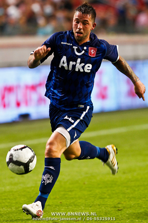 NLD/Amsterdam/20100731 - Wedstrijd om de JC schaal 2010 tussen Ajax - FC Twente, Theo Janssen
