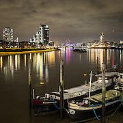Il tratto del Tamigi che divide Chelsea da Battersea.<br /> <br /> The section of Thames that divide Chelsea and Battersea.