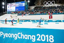 February 17, 2018 - Pyeongchang, SOUTH KOREA - 180217 Stina Nilsson of Sweden competes in Women's Cross Country Skiing 4x5 km Relay during day eight of the 2018 Winter Olympics on February 17, 2018 in Pyeongchang..Photo: Joel Marklund / BILDBYRN / kod JM / 87632 (Credit Image: © Joel Marklund/Bildbyran via ZUMA Press)