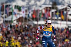 February 21, 2019 - Seefeld In Tirol, AUSTRIA - 190221 Sadie Bjornsen of USA competes in women's cross-country skiing sprint qualification during the FIS Nordic World Ski Championships on February 21, 2019 in Seefeld in Tirol..Photo: Joel Marklund / BILDBYRN / kod JM / 87879 (Credit Image: © Joel Marklund/Bildbyran via ZUMA Press)