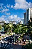 Kalakaua Avenue, Waikiki