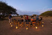 Sundowner (Safari cocktail party) at Camp Jabulani, Kapama Private Game Reserve, near Kruger National Park, South Africa