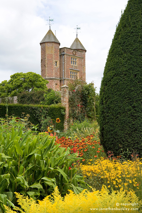 View of the Tower from the Cottage Garden at Sissinghurst Castle