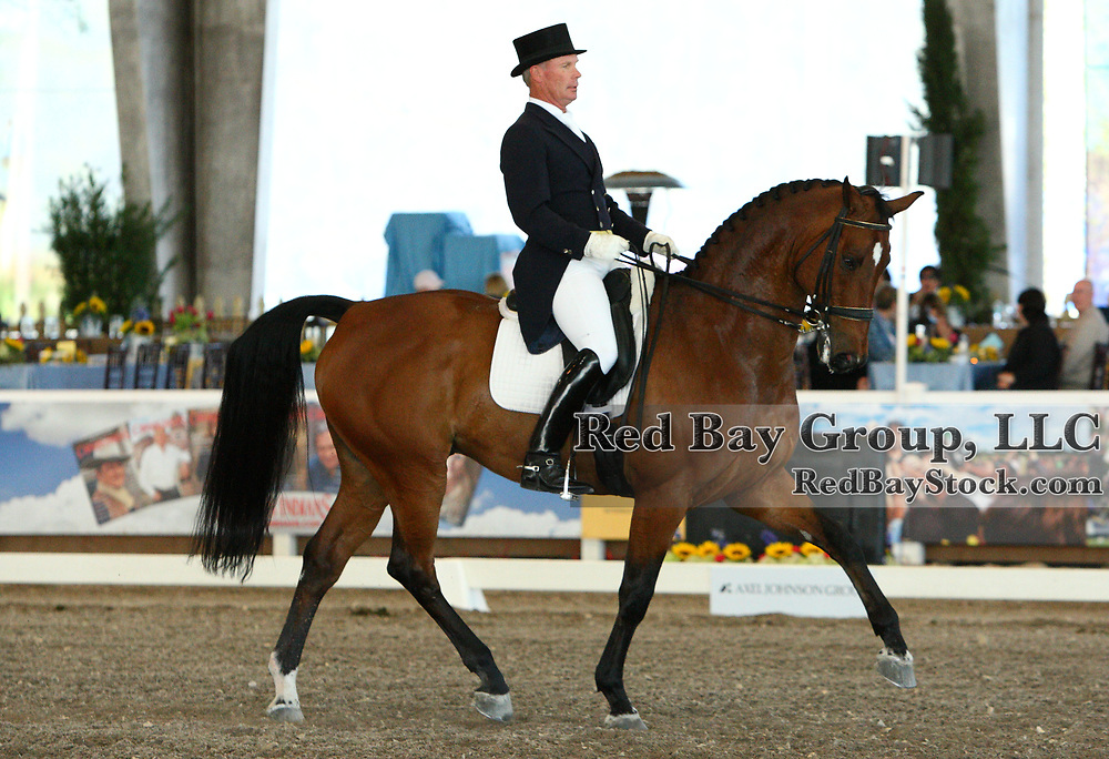 Gary Vander Ploeg and Cezanne at the 2011 World Dressage Masters in West Palm Beach, Florida at the Jim Brandon Equestrian Center.