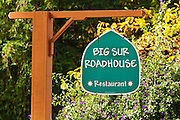 Big Sur Roadhouse restaurant, Big Sur, California