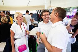 PORTOROZ, SLOVENIA - SEPTEMBER 16:  Zdruzenje manager VIP tournament during the WTA 250 Zavarovalnica Sava Portoroz at SRC Marina, on September 16, 2021 in Portoroz / Portorose, Slovenia. Photo by Vid Ponikvar / Sportida