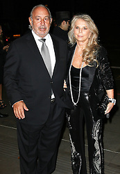 © London News Pictures. Sir Philip Green & Lady Tina Green, Music Industry Trusts Award, Grosvenor House, London UK, 02 November 2015, Photo by Brett D. Cove /LNP © London News Pictures.