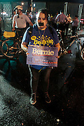July 28, 2016-Philadelphia, PA-United States: Day 4- Anti-Hillary Clinton Protestors and Pro-Bernie Sanders supporters protest against the official nomination  of Democratic Presidential Candidate Hillary Clinton while clashing with Police during day 4 of the 2016 Democratic National Convention held at the Wells Fargo Center on July 28, 2016 in the city of Philadelphia, Pennsylvania.  (Terrence Jennings/terrencejennings.com)