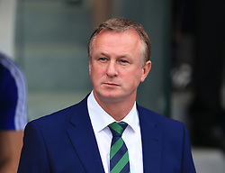 June 25, 2016 - Paris, United Kingdom - Michael O'Neill manager of Northern Ireland during the UEFA European Championship 2016 match at the Parc des Princes, Paris. Picture date June 25th, 2016 Pic David Klein/Sportimage (Credit Image: © Sport Image/Sportimage/CSM via ZUMA Wire)