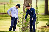 11-05-2019 Foto's NGF competitie hoofdklasse poule H1, gespeeld op Drentse Golfclub De Gelpenberg in Aalden. Foursomes:   Houtrak 1 - Ronny Giezen en Michael Kraaij
