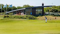 DOMBURG -  Clubhuis van de Domburgsche Golf Club in Zeeland (Walcheren) .  COPYRIGHT KOEN SUYK