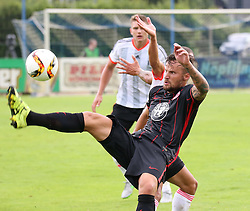 25.07.2015, Joiner Arena, Irdning, AUT, Testspiel, FC Fulham vs Eintracht Frankfurt, im Bild Haris Seferovic (Eintracht Frankfurt, #9) // during a international friendly football match between FC Fulham and Eintracht Frankfurt at the Joiner Arena, Irdning, Austria on 2015/07/25. EXPA Pictures © 2015, PhotoCredit: EXPA/ Martin Huber