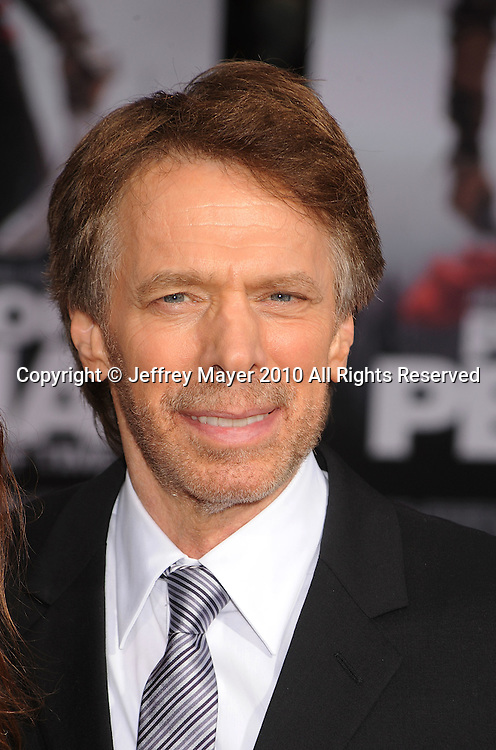 """HOLLYWOOD, CA. - May 17: Jerry Bruckheimer  arrives at the """"Prince of Persia: The Sands of Time"""" Los Angeles Premiere held at Grauman's Chinese Theatre on May 17, 2010 in Hollywood, California."""